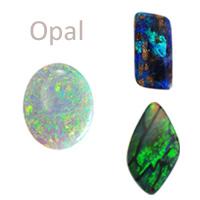 opal gemstones opal cabochons white opal boulder opal black opal, october birthstone