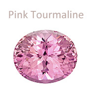 pink tourmaline gemstone october birthstone