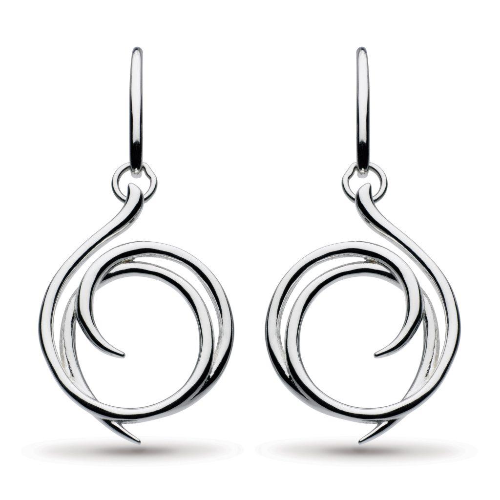 kit heath drop dangle earrings in sterling silver