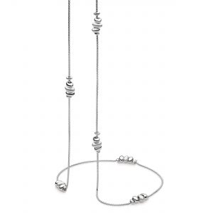 sterling silver necklace 32 inches long with beads kit heath