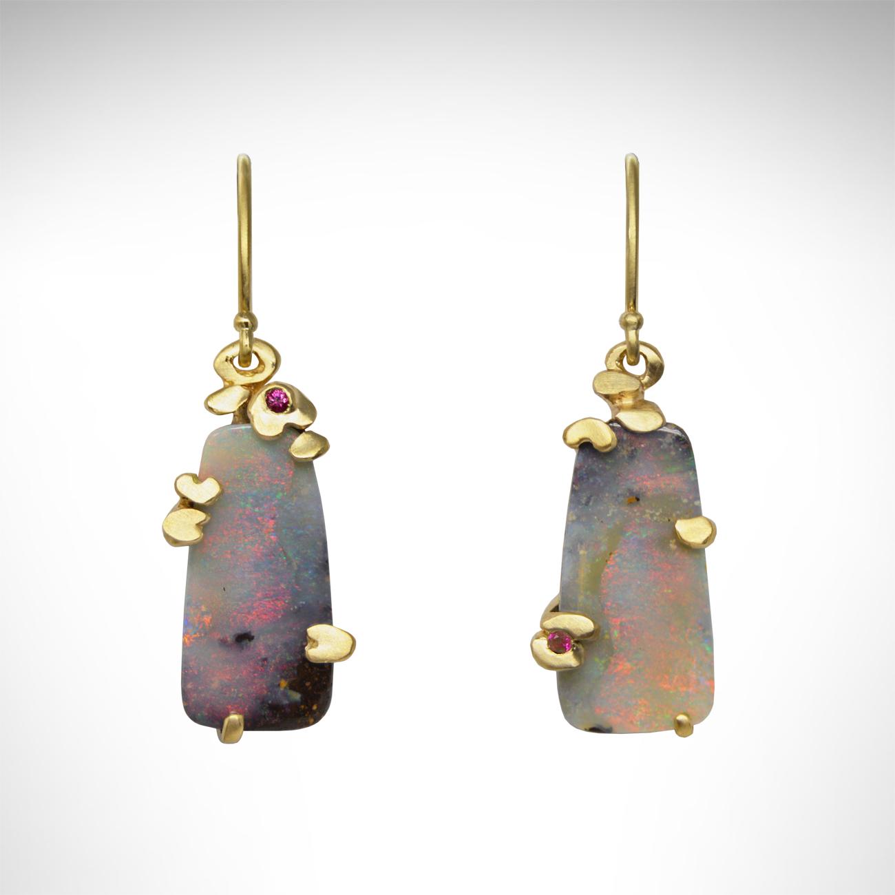 Earrings_BoulderOpal_Monet